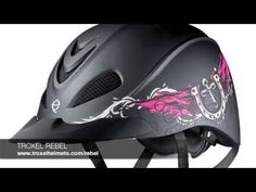 Take a look at the new equestrian Western riding helmet from Troxel! See the Rebel at: http://www.troxelhelmets.com/rebel