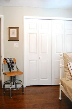 Sherwin Williams Sedate Grey... nice neutral color to paint a room I don't know what else to do with