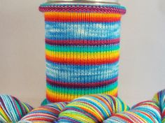 Nothing Says Screw You Like a Rainbow: by WhiteBirchFiberArts