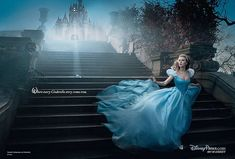 Scarlett wouldn't have been my first choice for Cinderella, but the photo is gorgeous.