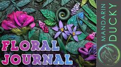 This is an amazing polymer clay journal tutorial in a floral theme. This is a time lapse and it lasts 13 minutes. If you would like to have a slower, much mo...