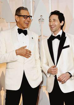 802eb07a54203 Jeff Goldblum in Tom Ford Adrien Brody Dolce   Gabbana