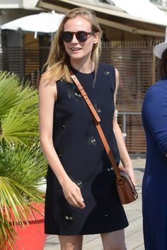 The Cross-body Bag Diane Kruger Is Obsessed With via @WhoWhatWear