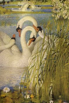 """From """"The Swan Maiden's Feathered Robe"""" by Midori Snyder:"""