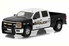Display Car Trailer *** Greenlight 1:64 OVP 2016 Chevrolet Silverado