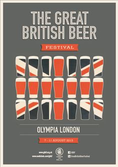 GREAT BRITISH BEER FESTIVAL on Behance