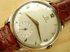 Omega gold 1954 | Vintage Watches