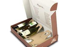 caja de carton botella troquel - Buscar con Google