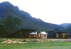 2011 Australian House of the Year - House in Country NSW: Set against the towering mountain ranges that define the valley site, the architectural expression of this sprawling farmhouse is simultaneously fragile and monumental   Virginia Kerridge Architect
