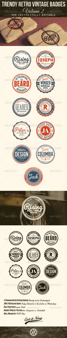 Trendy Retro Vintage Badges Template | Buy and Download: http://graphicriver.net/item/trendy-retro-vintage-badges-volume-2/7586669?WT.ac=category_thumb&WT.z_author=mining&ref=ksioks