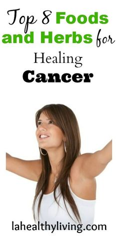 Top 8 Foods and Herbs for Healing Cancer.