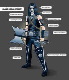 Black Metal Knights
