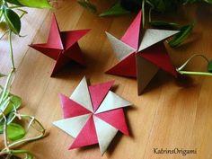 Septima star. Ideas for Christmas decoration. Oбъемная звезда. - YouTube