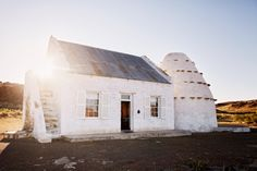 Karoo farm house in South Africa at Driebuffelsmeteenskootfontein.
