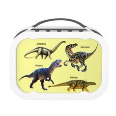 Shop Dinosaur Types Lunch Box created by TheDigitalConsultant. All Dinosaurs, Back To School Gifts, Lunch Box, Kids, Kid Stuff, Young Children, Children, Kid