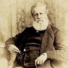 O imperador brasileiro d. Pedro II em New York, 1876.