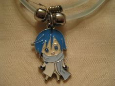 kaito vocaloid necklace. $4.99, via Etsy.--Rani