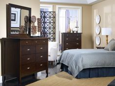 Rent the Colfax Dresser and Mirror