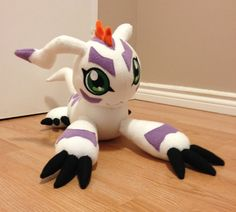 Digimon Gomamon custom plush to be made by Kitamonplush on Etsy