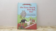On Your Mark Get Set Go, 1972, 1972, Leonard Kessler, vintage kids book by RandomGoodsBookRoom on Etsy