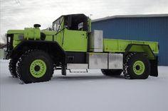 1978 AM General -- Monstrous 5 ton 4x4 custom pick up truck with dump box