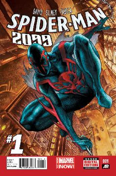 Spider-Man 2099 #1 review by Marcos