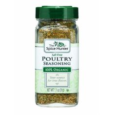 Spice Hunter Og1 Poultry Seasoning SugarFree (6x1.1Oz)
