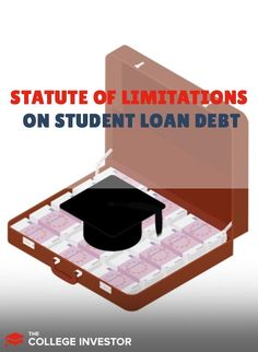 Is there a statute of limitations on student loan debt? Learn what happens to federal and private student loans after they enter default. #studentloans #debt #privateloans Private Loans, Private Student Loan, Federal Student Loans, Student Jobs, Student Loan Debt, College Students, Parent Plus Loan, Tax Refund, Money Management
