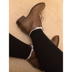23730b0337d3 slightly heeled brogue boots, only worn once besides taking pictures *RRP  £25*. Depop