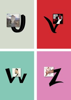 Vinyls_Alphabet on Behance