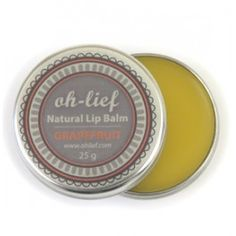 and so affordable to! Oh Lief Natural Lipbalm Natural Baby, Natural Living, Green Box, Natural Lip Balm, Soft Lips, Grapefruit, The Balm, Fragrance, Natural Products