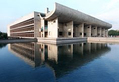 Legislative Assembly Building, Chandigarh, Le Corbusier