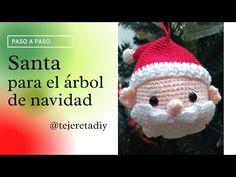 Crochet Christmas Trees, Christmas Tree Decorations, Crochet Teddy Bear Pattern, Crochet Hats, Diy, Videos, Holiday Decorating, Christmas Ornaments, Christmas Decor