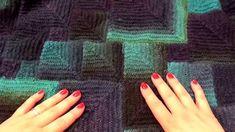 Modulové pletení čtverce 2. - škola pletení Double Knitting, Fingerless Gloves, Arm Warmers, Videos, Youtube, Dots, Tejidos, Tricot, Breien
