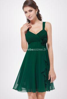 Loren - robe de soiree courte réf 3266