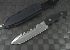 (#JB-Coroner-Satin) Brous Blades Coroner Satin - Hollow Grind - Authorized Microtech Dealer