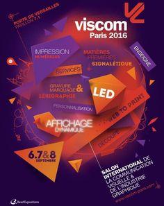 *Retrouvez toute l'équipe Transfer-ID au salon Viscom Paris les 6, 7 et 8 Septembre 2016 sur leur stand H55* #exhibition #Viscom #Paris 👕🎪🎊