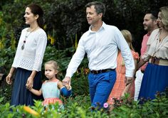 Danish Royal Family's Annual Summer Photo Shoot 2015