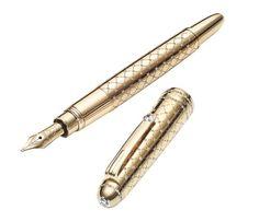 The Montblanc Meisterstück Mozart Jewellery Fountain pen