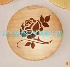 Wood Place Mat /wood Coaster/ Cup Mat/(wooden Craft/art In Laser Cut & Engraving) - Buy Wood Cup Mat,Natural Wood Coaster,Wood Plate Mats Product on Alibaba.com