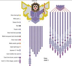 Free Seed Bead Patterns | Download the Arts and Crafts Other Files: Vertical Brick Stitch