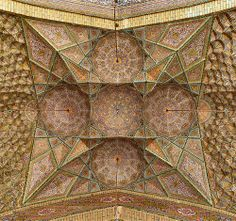 Awesome vaulted ceiling in Iran