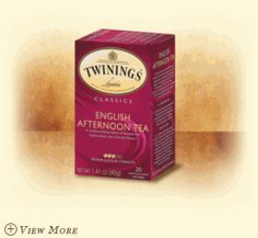 Twinings English Afternoon tea (my absolute favourite!)