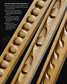 Carving Decorative Molding - Molding Construction Wood Carving