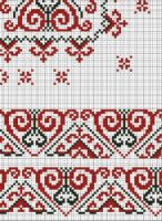Gallery.ru / Фото #4 - 23 - Auroraten Cross Stitch Borders, Cross Stitch Patterns, Cross Stitch Embroidery, Hand Embroidery, Tapestry Crochet, Christmas Sweaters, Projects To Try, Bohemian Rug, Sewing