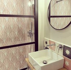 The Pink Hex Water Lily Tiles will give the wow factor to any space, hexagon and made of porcelain this tile is very hardwearing. Honeycomb Tile, Hexagon Tiles, Pink Tiles, Bathroom Renos, Bathroom Ideas, Downstairs Loo, Metro Tiles, Family Bathroom, Tile Design