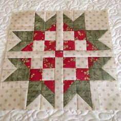 The traditional bear paw pattern combines with European elegance to make this easy Sweet Scandinavian Star Block. Perfect for holidays or all year long, this easy block tutorial is a fantastic way to go back to quilting basics.