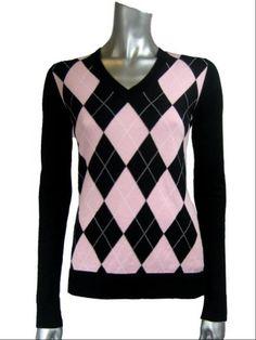 Women Argyle Sweaters