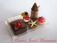 "Crown Jewel Miniature's ""Chocolate Chocolate"" dessert collection"