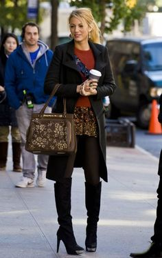 Image result for gossip girl winter outfits